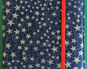 Blue, Red and White Kindle Paperwhite Case, Patriotic Kindle Cover, Stars Kindle Case, Blue Kindle Case, Made to Order Kindle Case