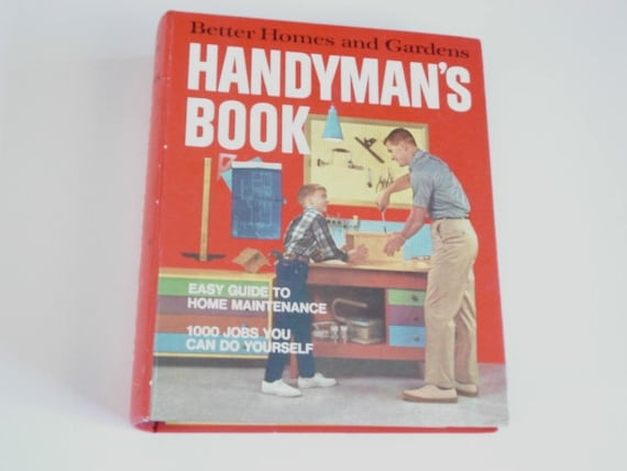 Handyman book home repair book1970s repair book fix it handyman book home repair book1970s repair book fix it guide how to book home maintaince do it yourself tools plumbing tips solutioingenieria Gallery