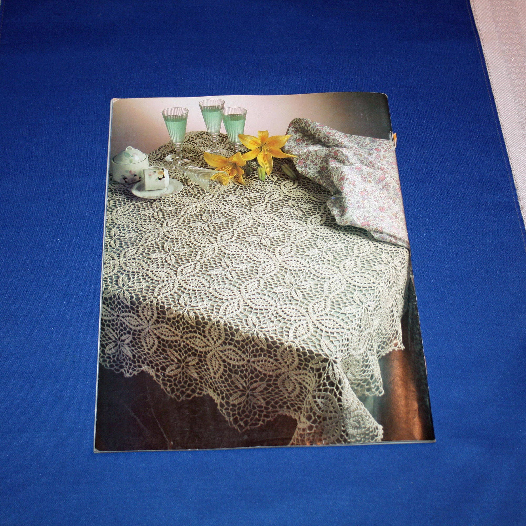 Vintage Magic Crochet Pattern Magazine 30 Patterns Crocheting ...