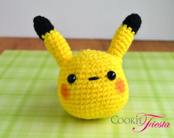 Ready to ship - Pikachu Amigurumi crochet doll
