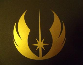 Jedi insignia from 'Star Wars'  Vinyl Sticker