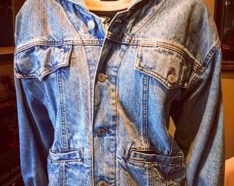 Vintage Guess Denim Jacket Small