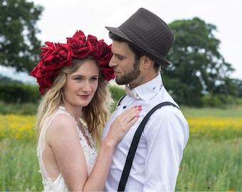 Boho Hippy Woodland Wedding Dress / Bridal Gown 'Annis'