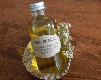 Protect & Heal Body Oil