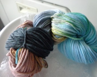 Timeless Vintage Colorway 100% Cotton Sport Weight Yarn