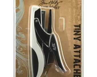MINUSCULE porteraient - TIM HOLTZ - Advantus PAPERCRAFTiNG agrafeuse avec agrafes minuscules - IDEAOLOGYs - neuf