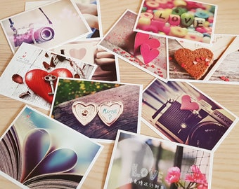 "Post Cards x32 Pack ""FOR LOVE"""