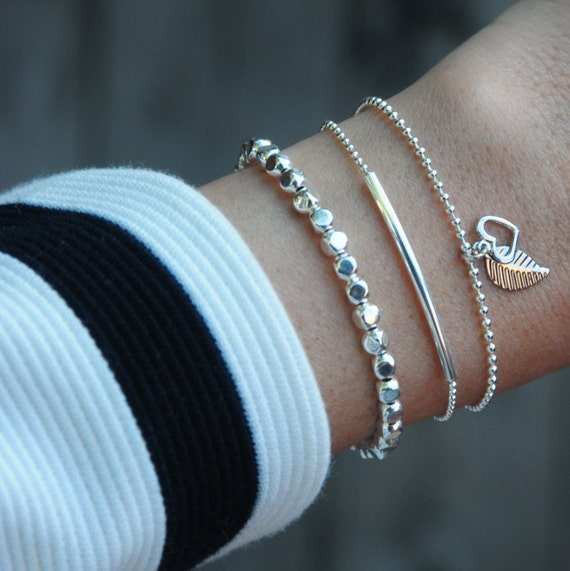 Bracelets Si Simple handmade in Montreal