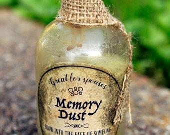 Memory Dust // Apothecary Shelf Ingredient, Curiosity Cabinet, Witchcraft,  Halloween Decor,