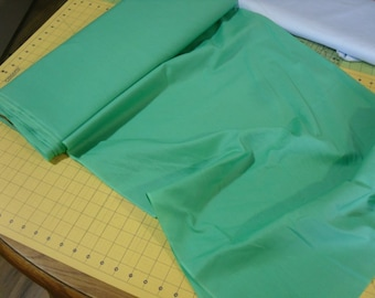 Poly Cotton Fabric .... this is called zesty green