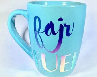 Islamic coffee cup FAJR FUEL