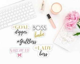 Girl Boss Die Cuts