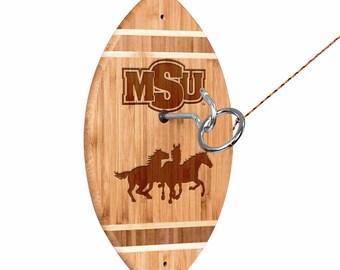 Midwestern State Mustangs Tiki Toss