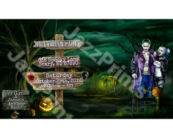 Halloween Party Invitation!