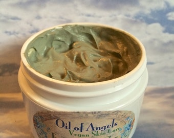 Vegan French Green Clay Mask Purifying Mask Detoxifying Mask 3 oz