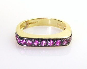 Pink Sapphire Ring.