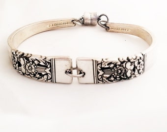 Coronation spoon bracelet, upcycled silverware, 1936, Mother's day, ready to ship,  free shipping and free gift box