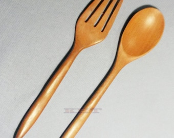 Wooden Cutlery Spoons & Forks FREE SHIPPING