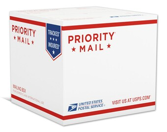 USPS Priority Mail Upgrade (GiftsByBesta Store ONLY)