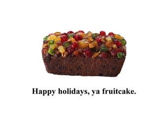 Greeting Card - Fruitcake