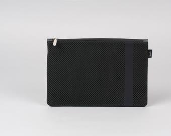 Toiletry bag, cosmetic bag, wash bag, black