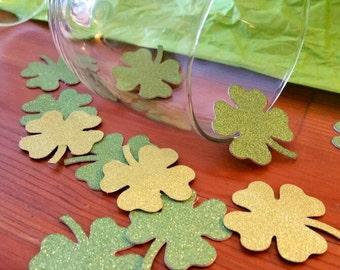 St. Patrick day confetti, star patricks decorations, st. Paddy's party decor, shamrock confetti, green confetti, custom confetti, clover con