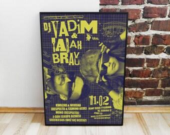 DJ Vadim & Yarah Bravo Poster
