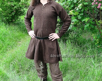 Tunic of Kragelund, Early Medieval Scandinavian tunic, Viking tunic, Historical Pattern , for Viking Reenactors, Viking Costume