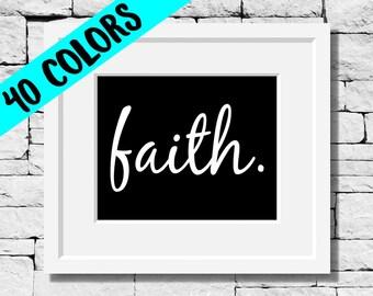 Faith, Religious Wall Art, Religion Quotes, Christian Wall Art, Religious Gifts, Religion Wall Art, Christian Gifts, Religious Prints, Faith
