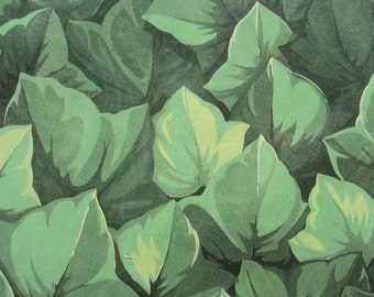 Hallmark Gift Wrap, All Occasion, Green Leaves, Hallmark Cards, Vintage Wrapping Paper, Gift Wrapping, Scrapbook, 2 Sheets