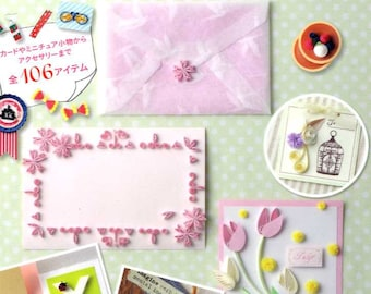 Palm Size Cute PAPER QUILLING Items - Japanese Craft Book MM