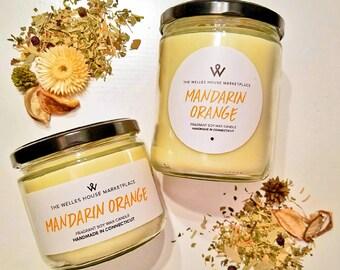 Natural Soy Wax Candle 12 oz Jar