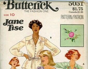 Original Vintage Butterick Sewing Pattern - 5051 ca.1978 - UNCUT - FACTORY FOLDED