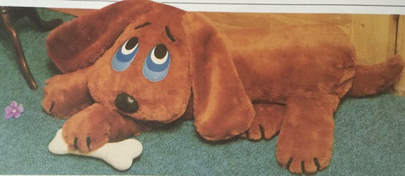 Original UNUSED Vintage Chart Sewing Pattern to make A Guard Dog ...