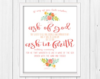2017 Young Women Theme, LDS Mutual Theme, Ask in Faith