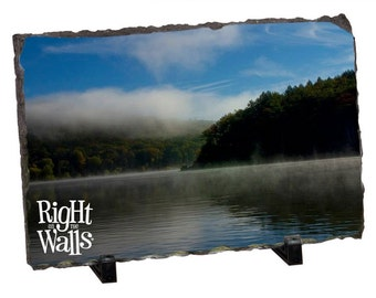 Your Custom PHOTO Printed on A Rectangle Slate Stand