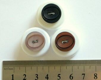Plastic 2-Hole Buttons