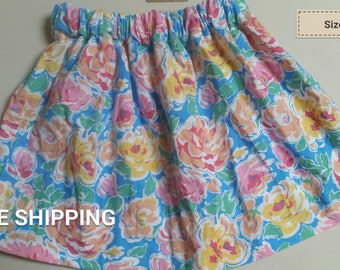 Bright floral size 4T