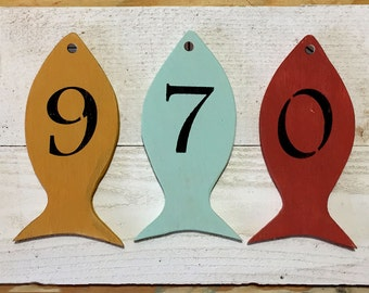 Custom house number sign, Wood house numbers, Address plaque, House Numbers, Address signs, Wooden House numbers, lake house address