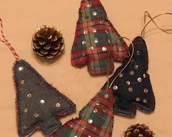 Lavender Christmas tree decoration, Christmas tree, Christmas tree decor, rustic Christmas decoration, vintage christmas decor, Xmas