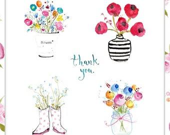 Thank You Card - Handmade