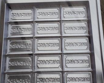 Handmade Guest Tray Soap Mold