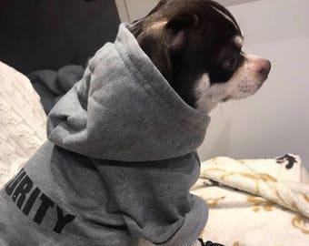 Dog Hoodie Pet Sweatshirt Little Dog Sweater