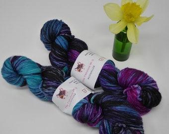 Bejewelled: Hand Dyed Yarn, Sock Yarn, Hand Dyed Sock Yarn, Shawl Yarn, DK, Light Worsted