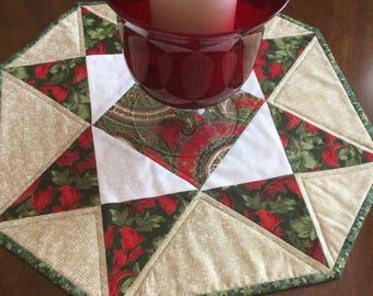 Christmas Table Runner, Christmas Table Decor, Christmas Decor, Gift for Her, Christmas Paisley