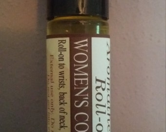 Comfortable Woman, Aromatherapy Roller, Women's Comfort, Patchouli, Ylang Ylang, Essential Oils, Neroli, Natural, Organic, Non-GMO