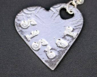 Fine Silver Custom Charm Bracelet