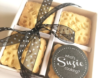 Thank You Biscuits For Teachers - Teacher Biscuits - Thank You Biscuits - Teacher Gift - End of Term Gift - Shortbread Biscuits