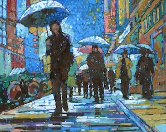 Rainy Night (Print)