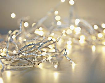 50 LED Mini String Lights Battery Operated Fairy String Lights, Centerpieces, Party Lights, Outdoor Wedding, Christmas Lights, Room decor
